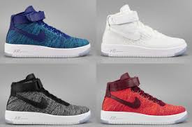 bruce kilgores nike air force 1 is always privy to some modern day remixes something thats been rather obvious thanks to the incusion of lunarlon air force 1 flyknit