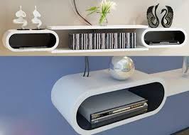 oval floating shelves floating wall oval cube shelves room book skybox storage wood on kitchen outstanding