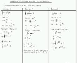 Solve the first two integrals. Integration Math100 Revision Exercises Resources Mathematics And Statistics University Of Canterbury New Zealand