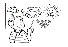 Small Picture Weather coloring pages weatherman ColoringStar