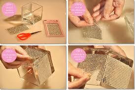 cube glass cylinder scissors rhinestone stickers