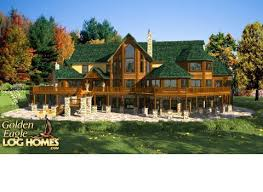 Lake Front Home Designs 2 New At Best Picture Of Large Log Cabin Large Log Cabin Floor Plans