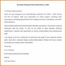 Recommendation Letter For Office Assistant Letter Of Recommendation For Office Assistant Barca