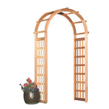 garden arbor lowes. Exellent Lowes Garden Architecture 34ft W X 72ft H Natural Arbor Intended Lowes R