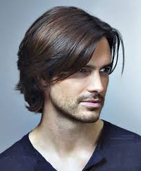 long hairstyles men thick hair