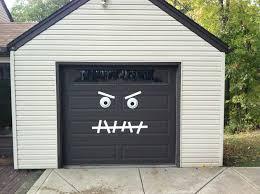 garage door muralsApartments Awesome Creative Garage Doors Design With Halloween