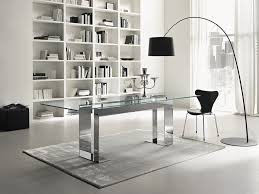 contemporary home office furniture sets. beautiful rainbow modern glass desk thediapercake home trend with regard to top contemporary office furniture sets