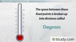 What Is Temperature Definition Measurement