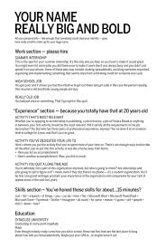 How To Make A Really Good Resume A Fill In The Blank Resume For Your Job And Internship Hunt