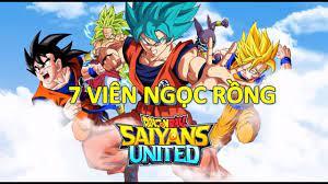 Trải Nghiệm Game Mobile - Dragon Ball: Saiyans United (7 Viên Ngọc Rồng)