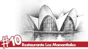 architectural drawings of famous buildings. Modren Drawings Restaurante Los Manantiales Perspective Drawing 10  Famous Architecture   YouTube And Architectural Drawings Of Famous Buildings C