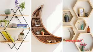 50 modern and unique wall shelf ideas