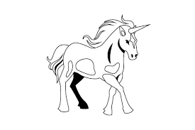 40 free images of horse outline. Yellowimages Mockups 3d Unicorn Svg File Potoshop