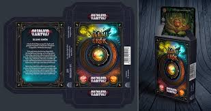 Trading Card Design Concept Design For A Fantasy Trading Card Game Box By Mermaliorx On