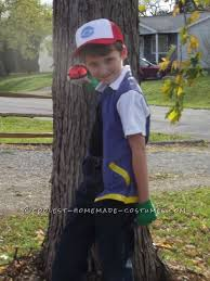 our youngest son wanted to be ash ketchum from pokemon for i spent several days scouring costume ideas on the internet even bought ones