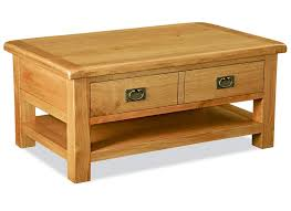 salisbury oak large coffee table with