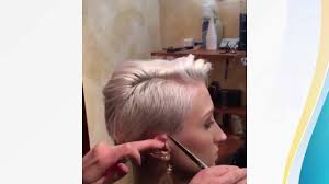 طريقة قص الشعر بالخطوات الشعر القصير