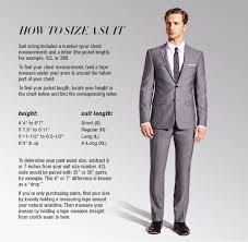 Suit Jacket Size Chart How Should A Suit Fit Mens Suit Fit Guide Macys