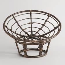 durable papasan chair frame