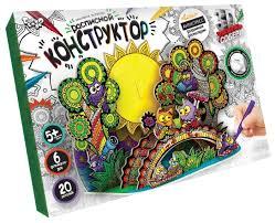 <b>Danko Toys 3D</b>-<b>раскраска</b>. Расписной конструктор. Совы ...