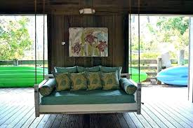 outdoor porch bed swing round outdoor daybed swing round porch swing bed large size of rare