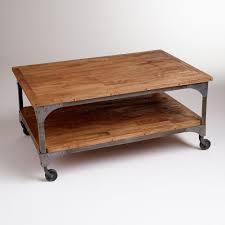Iron And Wood Coffee Table Wood Coffee Table Wood Coffee Table Natural Wood Coffee Table