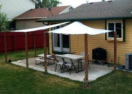 backyard awnings ideas patio awning designs deck wood canopy house how to build for