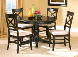 espresso round dining table casual dinette design with round espresso bistro tables sy inside dining table