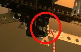 garage door zip tie manual release latch