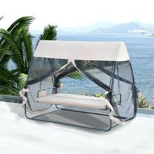 Hammock Swing Bed With Mosquito Net Outdoor For Sale Canopy.