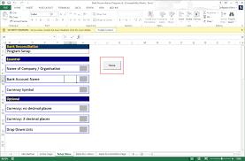 Bank Reconciliation Excel Format Download Bank Reconciliation Program 2 02