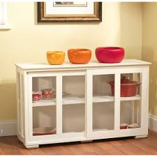 interior top wonderful small cabinet with glass doors used kitchen low white storage wall wood tv