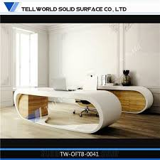 round office desk. brilliant desk supply fashionable office furniture luxury desk with round shape  artificial stone for