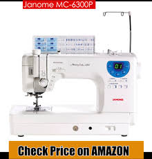 Best Sewing Machines for Quilting 2018 | Best Sewing Machines for ... & Janome MC 6300P sewing machine has an efficient speed, power as well as  precision critical for solving the advanced sewing problems along with the  serious ... Adamdwight.com