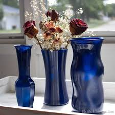 a quick and easy diy project from the birch cottage diy spray painted glass vases