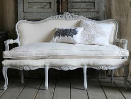 white vintage couch. SoOoo Beautiful♥ Small Vintage Sofa White Couch T