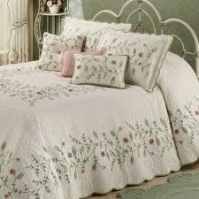 Oversized King Size Bedding 126X120 | Home Posy Grande Bedspread ... & Oversized King Size Bedding 126X120 | Home Posy Grande Bedspread Ivory Adamdwight.com
