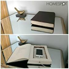 diy hollowed out book