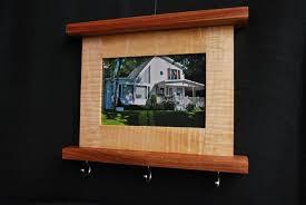Custom Made Picture Frame Key Holder