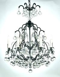 wrought iron and crystal chandelier wrought iron crystal chandelier traditional wrought iron crystal orb chandelier