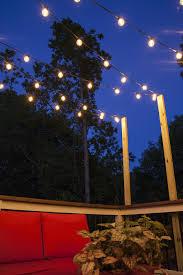 hanging patio lights. V Pattern Patio Lights Hanging W