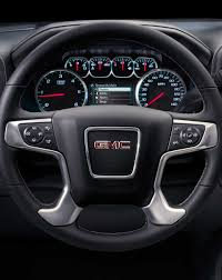 gmc trucks 2014 interior. picture showing the 2017 gmc sierra 1500 pickup trucku0027s available heated leatherwrapped steering gmc trucks 2014 interior