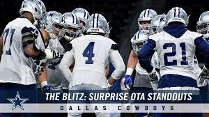 Dallas Cowboys At T Stadium Seating Chart The Blitz Surprise Ota Standouts For Dallas Cowboys Dallas Cowboys 2019