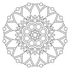 Small Picture Simple mandala coloring pages printable ColoringStar