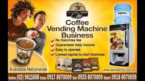 Coffee Vending Machine Franchise Philippines Classy Coffee Vendo Machine And Coffee Vending MachineBarista Choi Radio