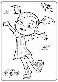 Vampirina printable images for colouring for kids 17. Printable Disney Junior Vampirina Coloring Pages