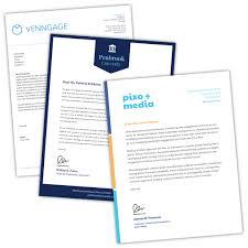 Free Online Letterhead Maker Professional Templates Venngage