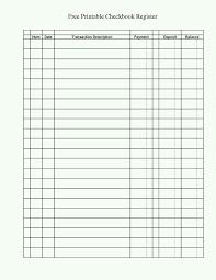 Checkbook Registers To Print Checkbook Register Printable Check Register Checkbook