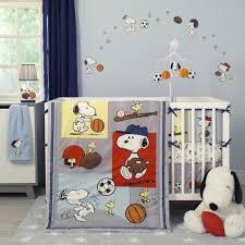 bedtime originals snoopy sports 3 piece crib bedding set com