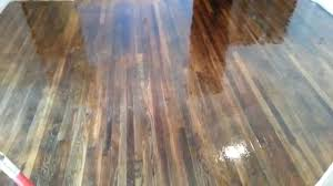 polyurethane wood floors bubbles